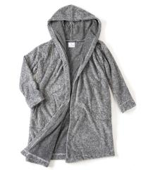LONG HOODED  ROBE